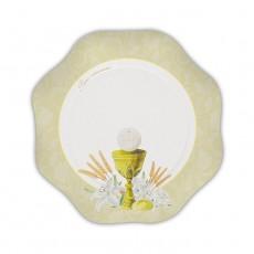Piatti per Comunione Ivory cm.18 Pz.10
