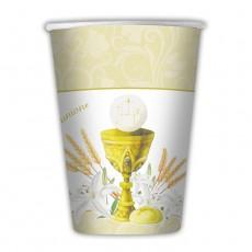 Bicchieri per Comunione Ivory cc.200 Pz.10