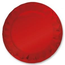 5 Sottopiatti Diamant cm.32 Rouge Metallic