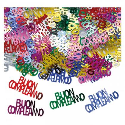 Confetti scritta Buon Compleanno gr.15
