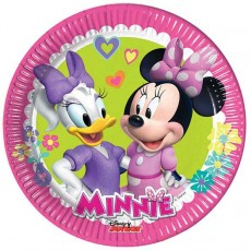 Piattini minnie happy helpers 20 cm  pz.8
