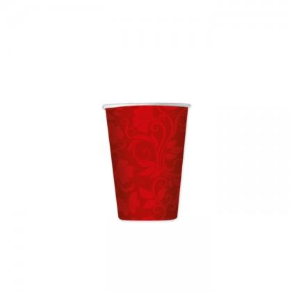 Bicchieri di carta per feste Celebrity Rosso cc.80 Pz.8