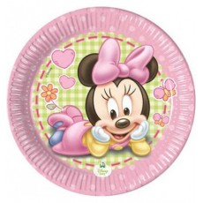 Piatto Minnie Baby, 20 cm, 8 pz.