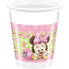 Bicchiere Minnie Baby, 200 ml, 8 pz.