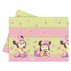 Tovaglia in plastica Minnie Baby, 1.20 x x1.80 mt.