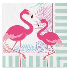 20 Tovaglioli Flamingo Party