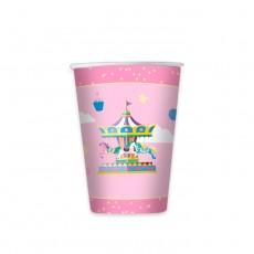 8 Bicchieri Carousel Party 200 ml