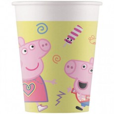 8 Bicchieri Peppa Pig