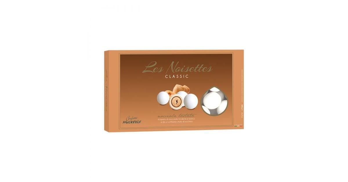 Confetti Maxtris Les Noisettes Bianco - 1 kg