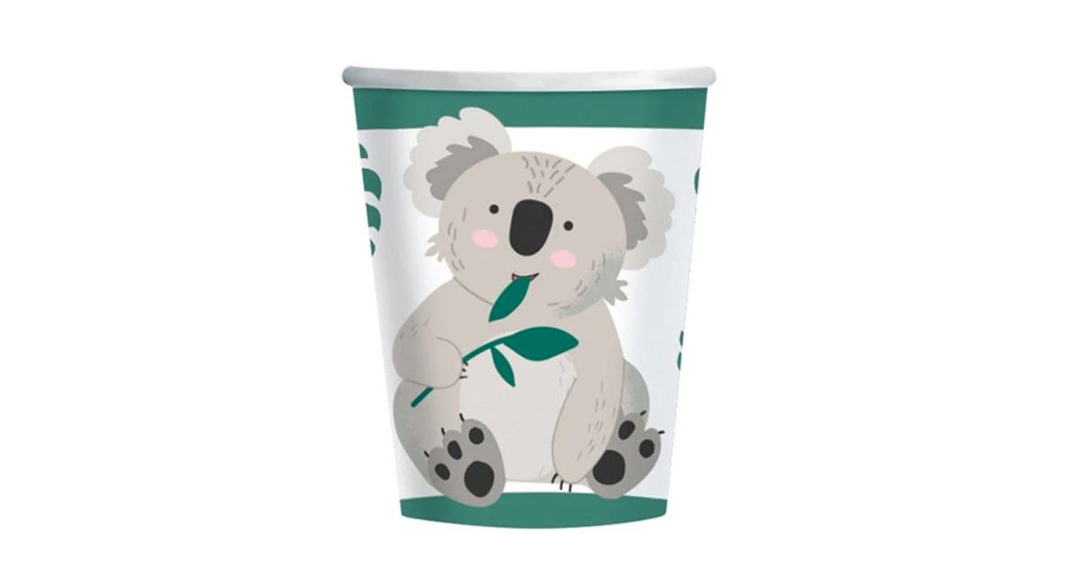 8 Bicchieri Koala 200 ml