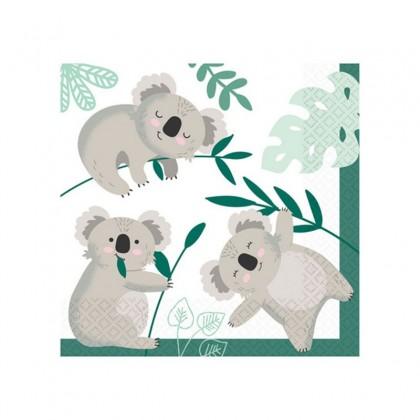16 Tovaglioli Koala 33 x 33 cm