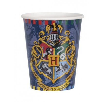 8 Bicchieri Harry Potter 200 ml